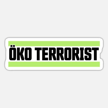 Eco Eco-terrorist - Sticker