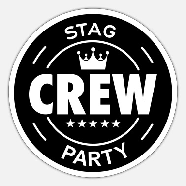 Stag Party stag party - Sticker