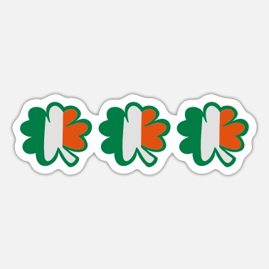 Baseball Underwear ♥ټ☘Kiss the Irish Shamrocks to Get Lucky☘ټ♥ - Sticker