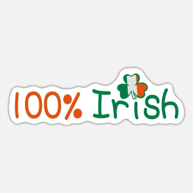 Uk Underwear ♥ټ☘Kiss Me I'm 100% Irish-Irish Rule☘ټ♥ - Sticker