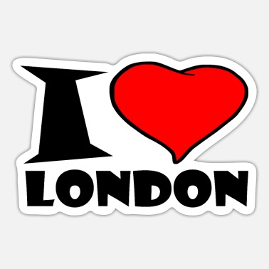 London London / Jeg elsker London - Sticker