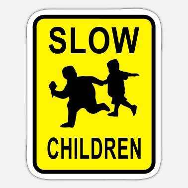 Slow Slow Children - Sticker