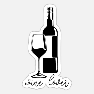 Wine Lovers wine lover - Sticker
