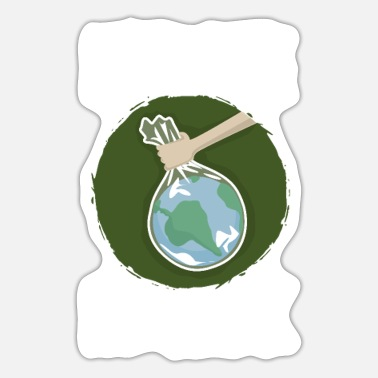 Protection Of The Environment Climate Environment Climate protection Protection Environmental protection - Sticker