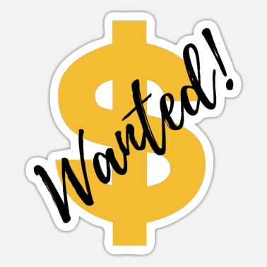 Want Wanted - Sticker