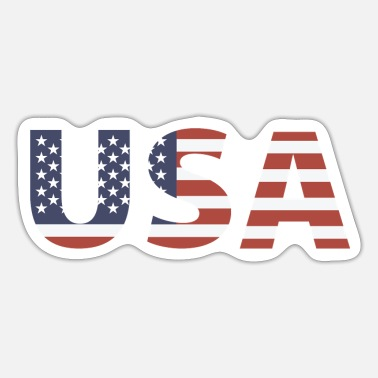 Stars And Stripes USA - Stars and Stripes - Sticker