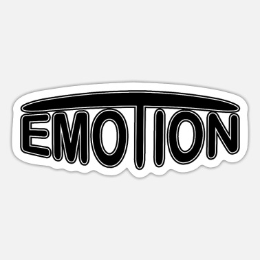 Emotion emoTion - black - Sticker