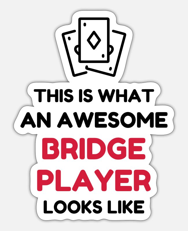 Quote Stickers - bridge_lms36 - Sticker white matte