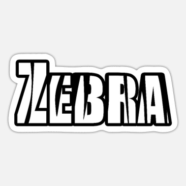 Animal Zebra animal animal - Sticker
