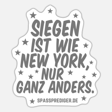 Siegen Siegen - Sticker