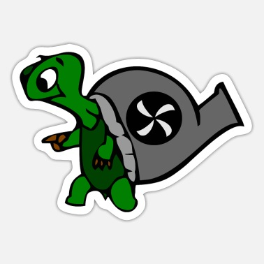 Schildi Schildi the turtle - Sticker