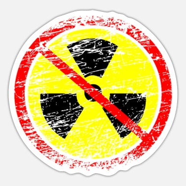 Nuclear Waste Anti nuclear power nuclear power plants nuclear waste nuclear energy - Sticker