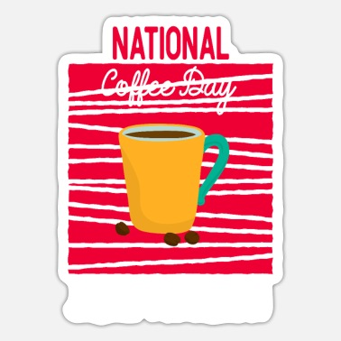 National National Kaffedag - Sticker
