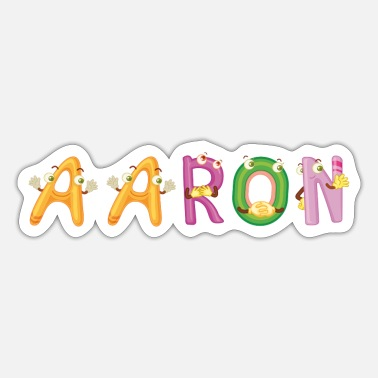Aarón Aaron - Sticker