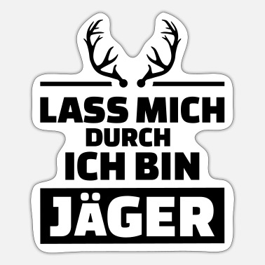 Jäger Jäger - Sticker