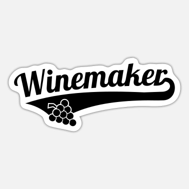 Winemaking Winemaker - Sticker