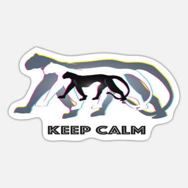 Keep Calm Keep Calm - Sticker