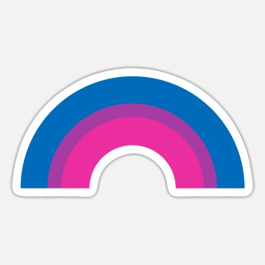 Bi Biseksuel Pride Flag Rainbow - Sticker