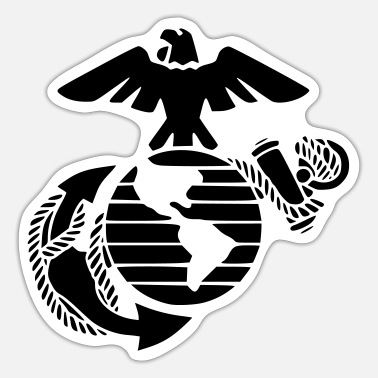 Marinen Marine marines - Sticker