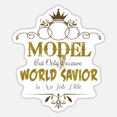 Model World Savior Model World Savior - Sticker