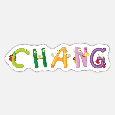 Change Chang - Sticker
