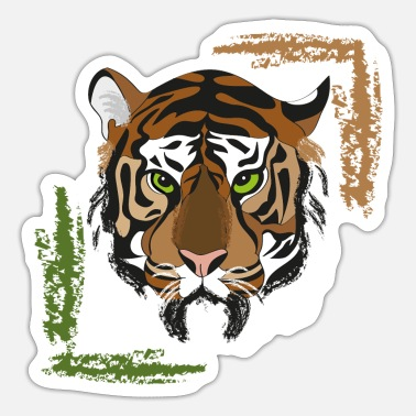 Tiger tiger - Sticker