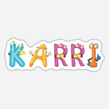 Karriere Karri - Sticker
