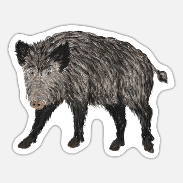 Boar boar - Sticker