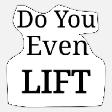 Power Lifting Power Lifting Gym Fitness Sport Gift Lift - Sticker