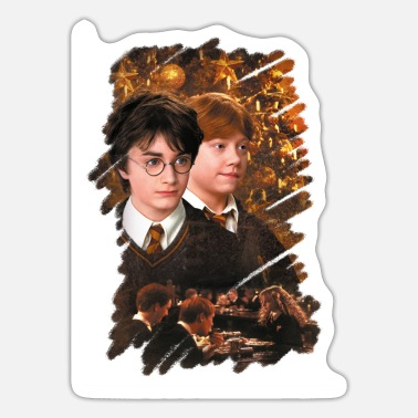 Ron Harry Potter Ugly Christmas Harry & Ron - Sticker