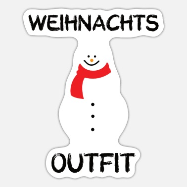 Outfit Weihnachts Outfit - Sticker