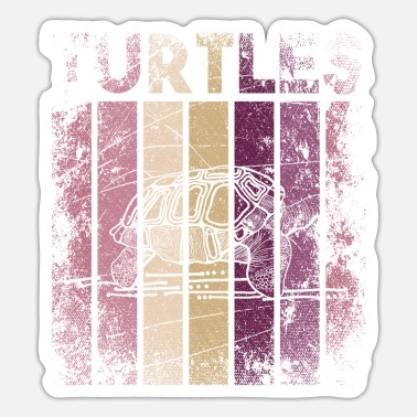 Turtle Turtles turtles sea turtle - Sticker