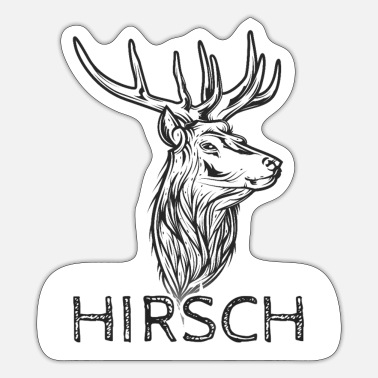 Hirsch HIRSCH - Sticker