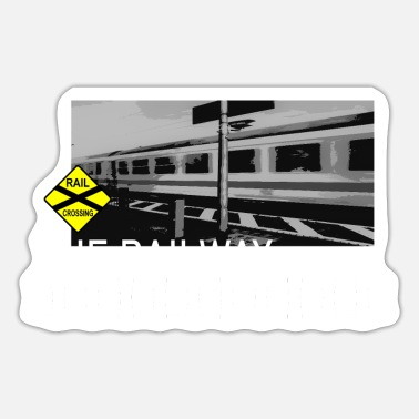 Railway Workers THE RAILWAY - Sticker
