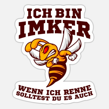 Imker Imker - Sticker