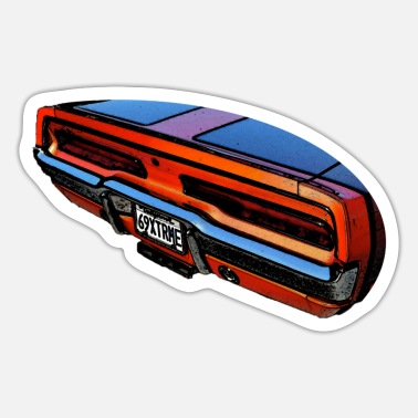 Charger Dodge Charger 1969 - Sticker