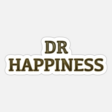 Happiness Dr. Happiness - Sticker