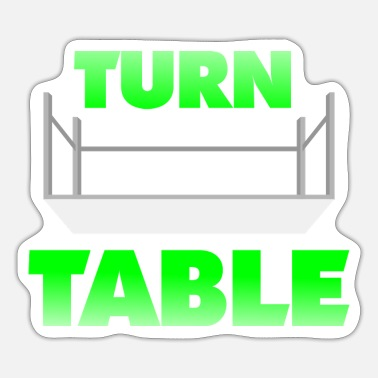 Turn Tables Turn Table - Sticker