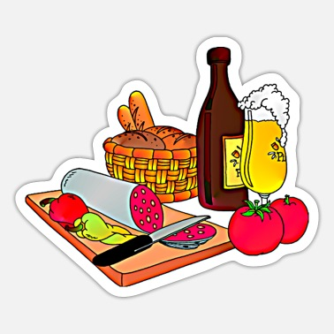 Snack snack - Sticker