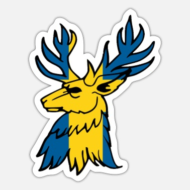Swedish Swedish moose - Sticker