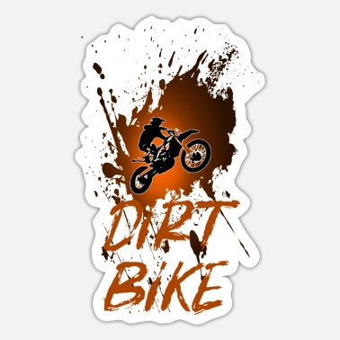 Crossmotor enduro motorcross - Sticker