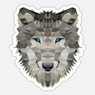 Pack-animals Wolf wild animals wolves pack - Sticker
