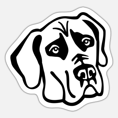 Great Dane Great Dane - Sticker