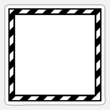 Frame Frame Gestreift - Sticker
