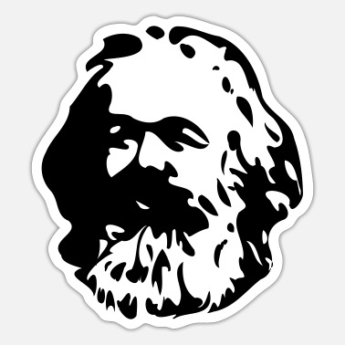 Marx Karl Marx - Sticker