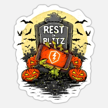 Blitz World of Tanks Blitz - Rest in Blitz - Adesivo