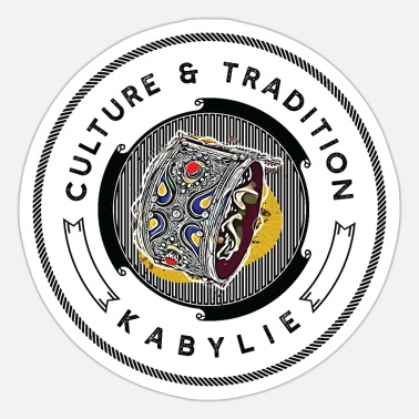 Tradition Kabylia, culture & tradition - Sticker