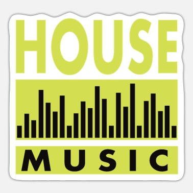 House Music HOUSE Music - Sticker