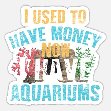 Akvarium akvarium - Sticker