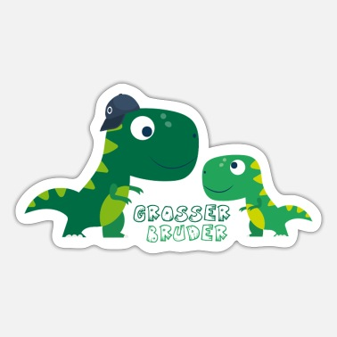 Dinosaur Big brother dinosaurs - Sticker